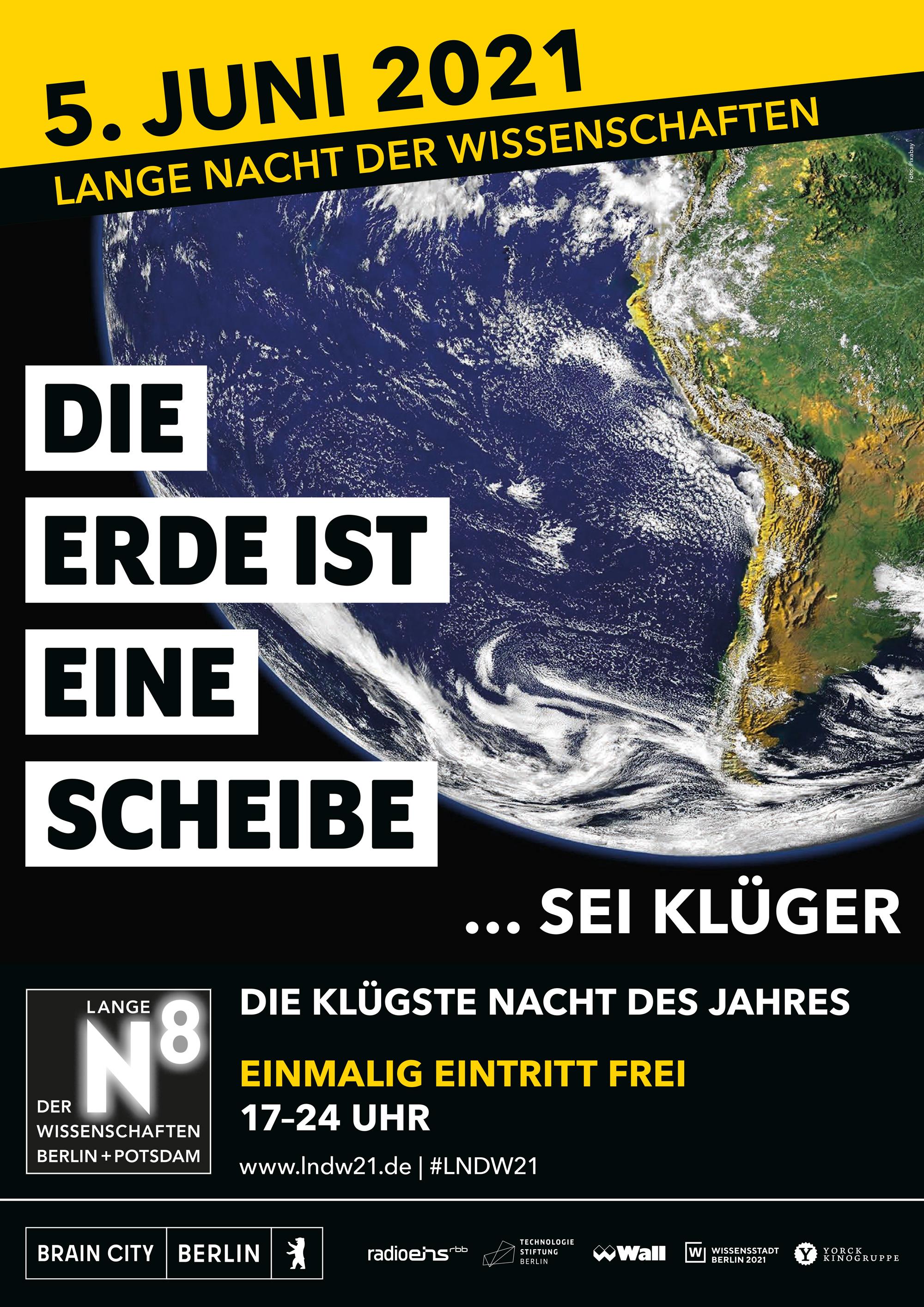 LNDW; Kampagne; Fake News; Lange Nacht der Wissenschaften Berlin